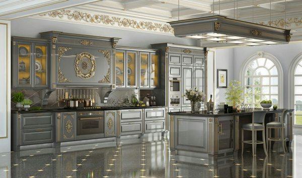 Профессиональный дизайн оформления кухни в Москве