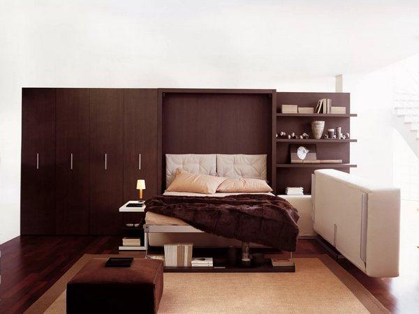 Трансформируемая мебель для спальни