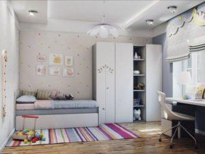 Самая важная мебель в детской комнате - кровать и стол