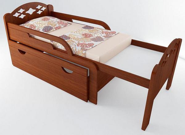 Раздвижная кровать - это практичное решение