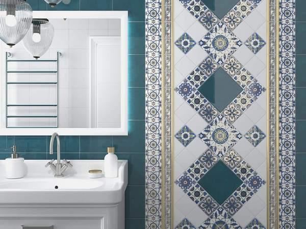 Коллекционная керамика открывает безграничные просторы в дизайне ванной комнаты