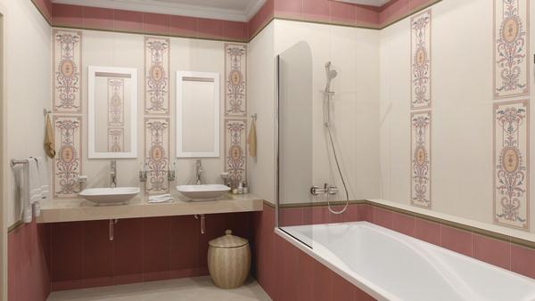 Плитка Керама Марацци Помпеи - отличный выбор для ванной