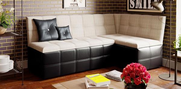 Натуральная кожа – стойкая, моющаяся, но впитывает запах и дорого обходится для изготовления дивана со спальным местом
