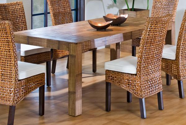 Мебель с ротанговым покрытием