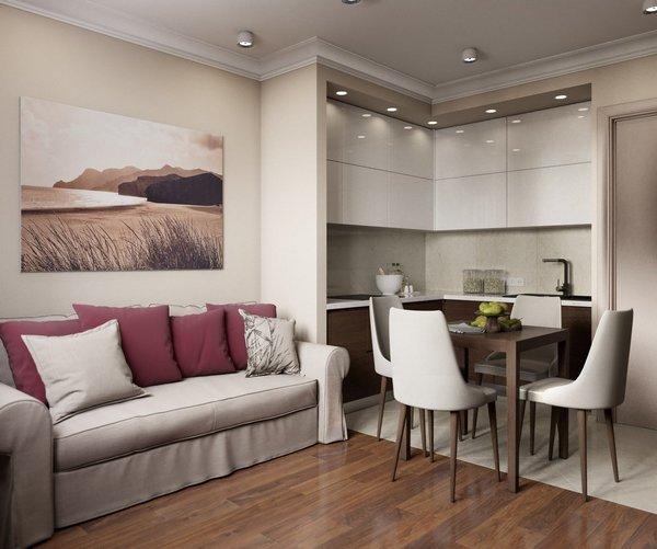 Маленькие диваны для кухни - это практично