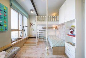Зная пристрастия своего малыша, родители определяются с функциональностью мебельного гарнитура