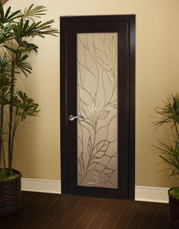 Межкомнатная дверь со шпоном фанй-лайнсо