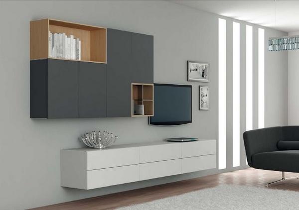 Мебель для гостиной в стиле минимализм