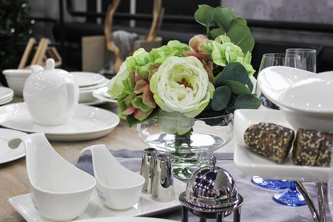 Искусственные растения в дизайне интерьера кухни