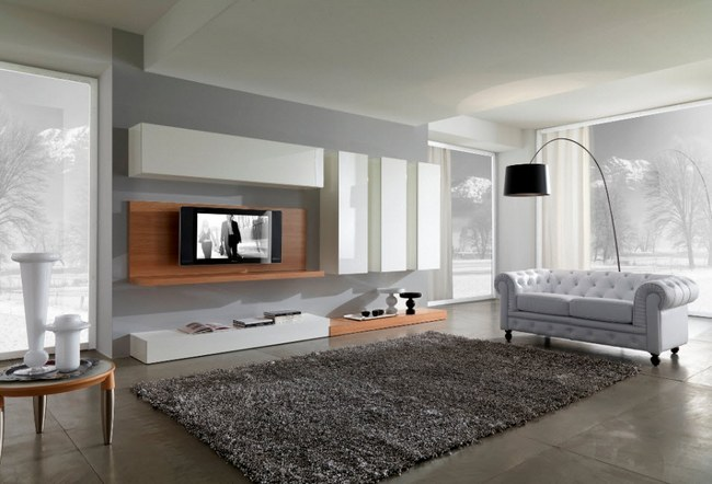 Интерьер гостиной в овременном стиле