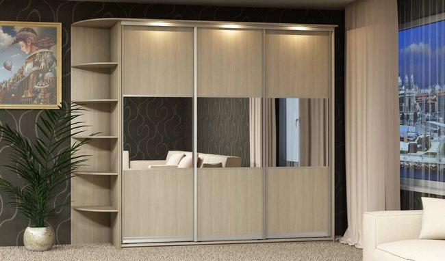 Функциональные шкафы-купе в дизайне интерьера