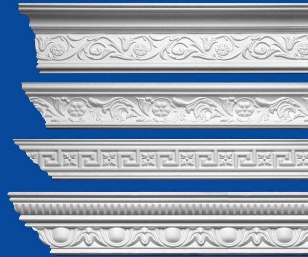 Карнизы с орнаментом в стиле Ар-деко