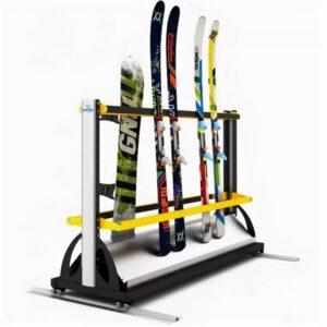 Как хранить лыжи и сноуборд?