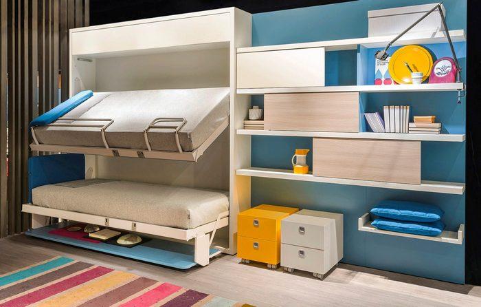 Мебель-трансформер в интерьере комнаты для подростка