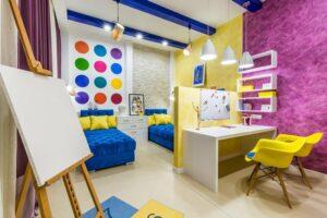 Важные аспекты по планировке детской комнаты