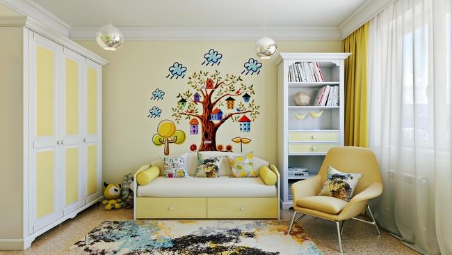 Обстановка в детской комнате должна способствовать комфортному проживанию и развитию ребенка