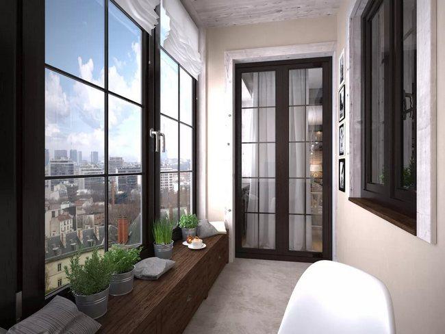 Качественное остекление балконов является гарантией сохранения тепла в доме