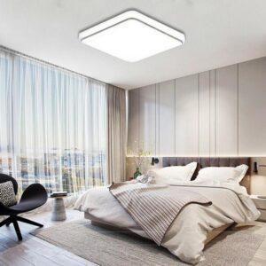 Освещение некоторых зон в спальне
