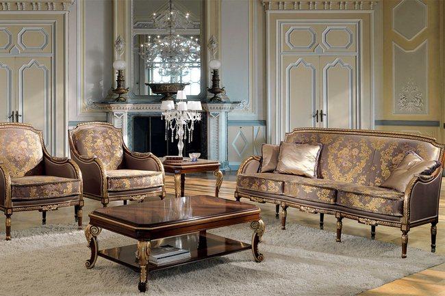 Элитная мебель из Италии характеризуется богатством отделки и выдержанными конструкциями