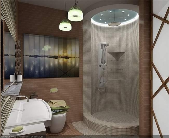 Самым популярным материалом для отделки ванных комнат является плитка.